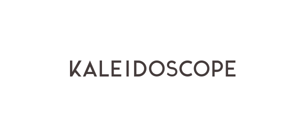 Logotype for Kaleidoscope. Brand Identity. Hand made surfboards. Byron Bay. By Pacifica.