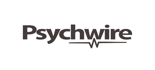 Logotype for Psychwire. Brand Identity. Psychology online network. Byron Bay. By Pacifica.