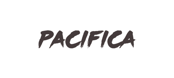 Logotype for Pacifica Agency. Brand Identity. Designer. Byron Bay. By Pacifica.