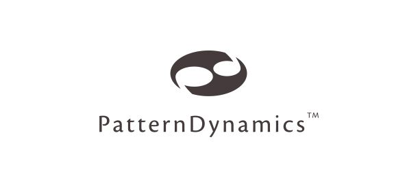 Logotype for Pattern Dynamics. Brand Identity. Research. Byron Bay. By Pacifica.
