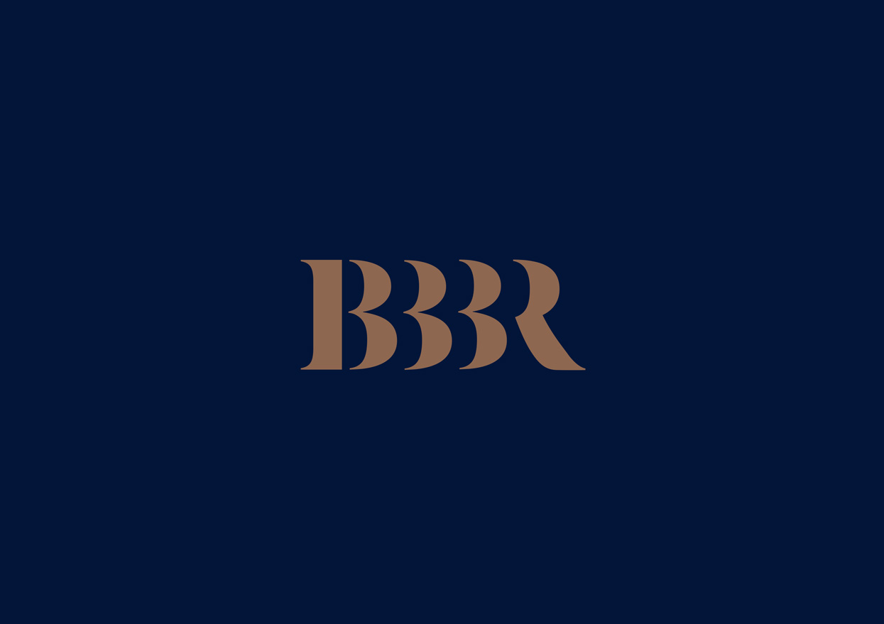Logo BBBR - Strategy, Art Direction, Branding, Graphic & Digital Design Advertising Graphic Design Pacifica agency Byron Bay