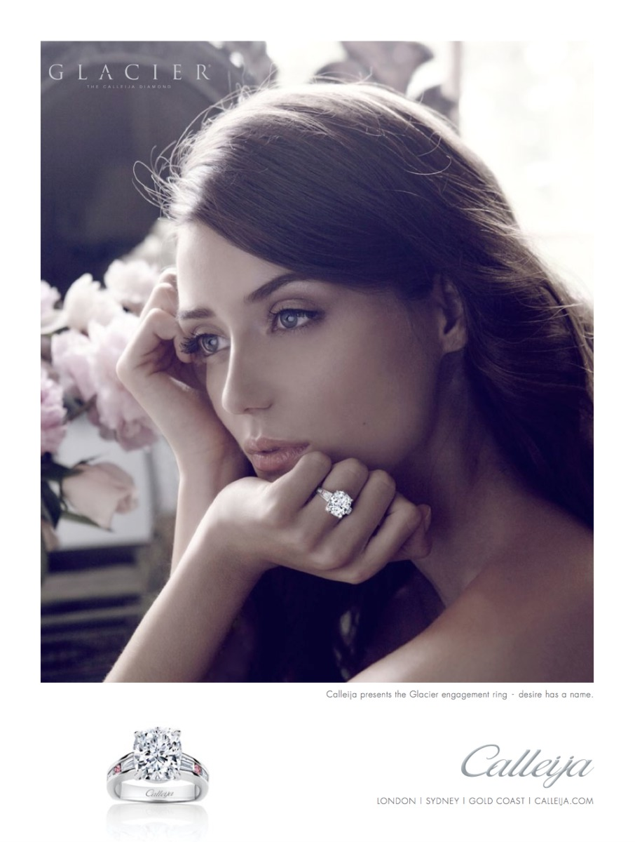 Art Direction and Advertising for the Luxury jewellery designer Calleija. By Pacifica agency in Byron Bay.
