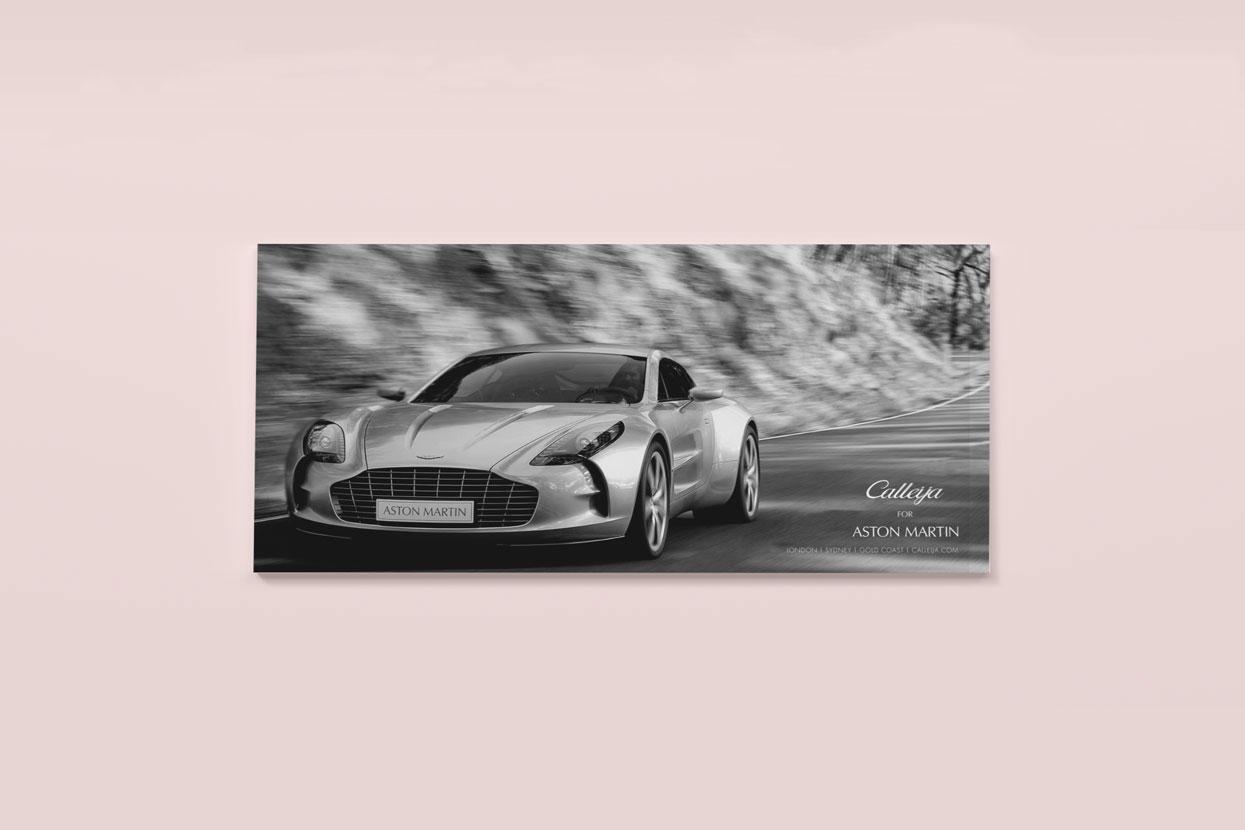 Catalogue Aston Martin Car Calleija - Strategy, Art Direction, Branding, Graphic & Digital Design Advertising Pacifica agency Byron Bay